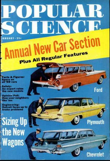 Popular Science - Popular Science - January 1959