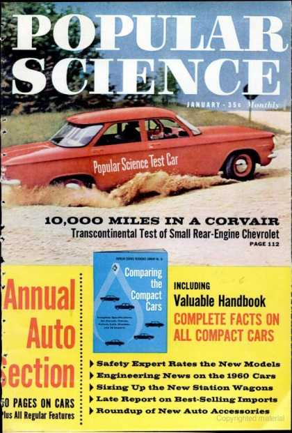 Popular Science - Popular Science - January 1960