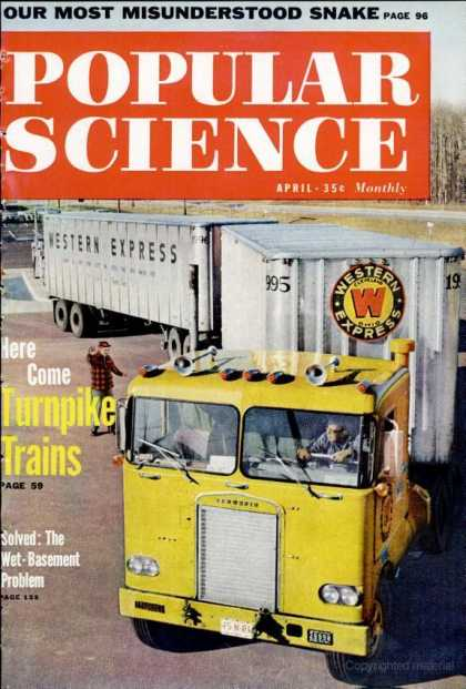 Popular Science - Popular Science - April 1960