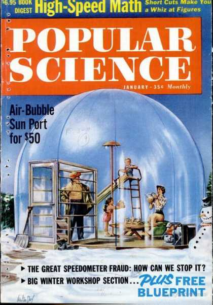 Popular Science - Popular Science - January 1961