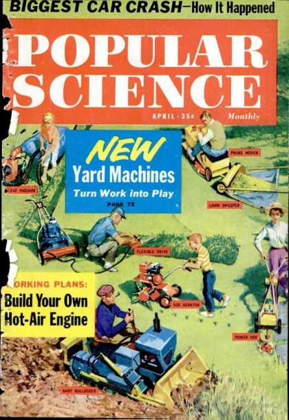 Popular Science - Popular Science - April 1961