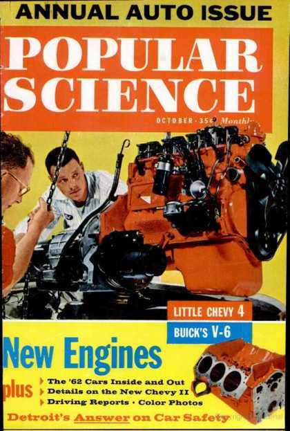 Popular Science - Popular Science - October 1961