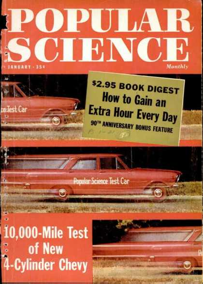 Popular Science - Popular Science - January 1962