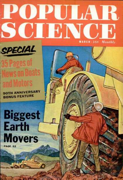 Popular Science - Popular Science - March 1962