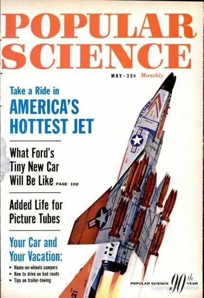 Popular Science - Popular Science - May 1962