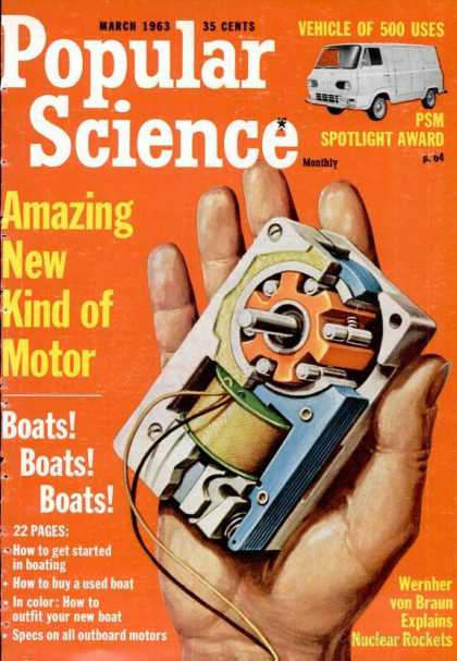 Popular Science - Popular Science - March 1963