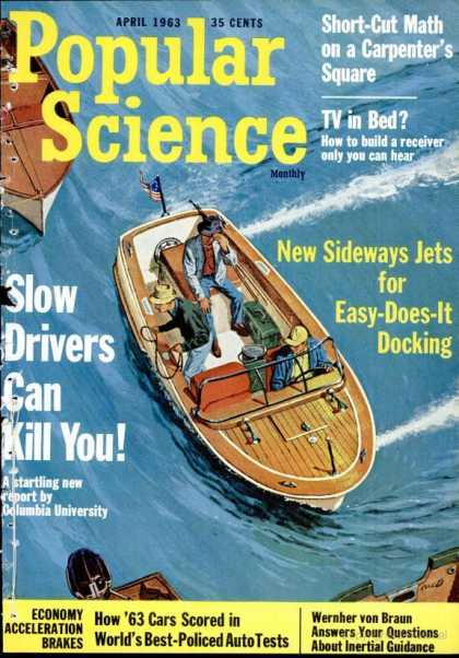 Popular Science - Popular Science - April 1963