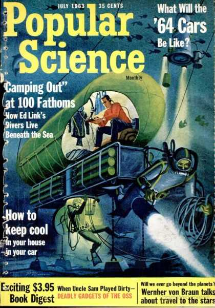 Popular Science - Popular Science - July 1963