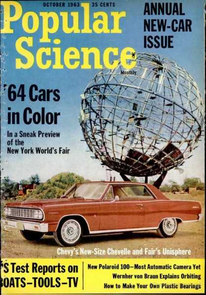 Popular Science - Popular Science - October 1963