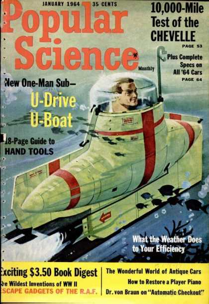 Popular Science - Popular Science - January 1964