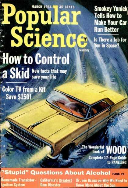 Popular Science - Popular Science - March 1964
