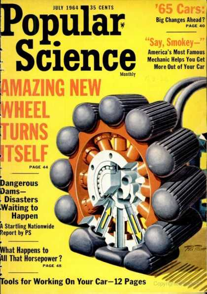 Popular Science - Popular Science - July 1964