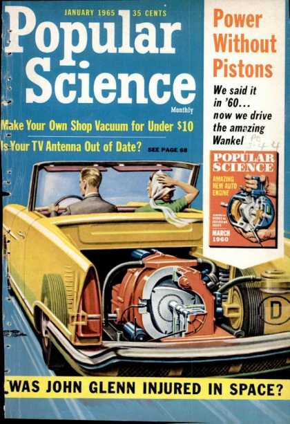 Popular Science - Popular Science - January 1965