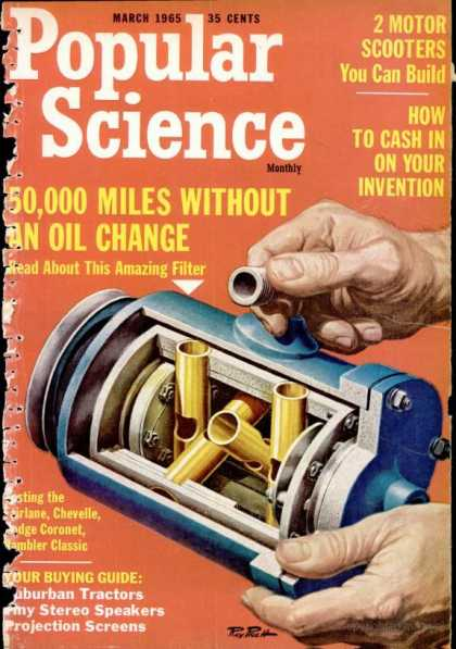 Popular Science - Popular Science - March 1965