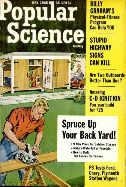 Popular Science - Popular Science - May 1965