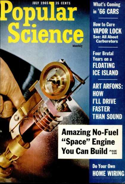 Popular Science - Popular Science - July 1965