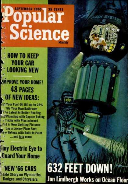 Popular Science - Popular Science - September 1965