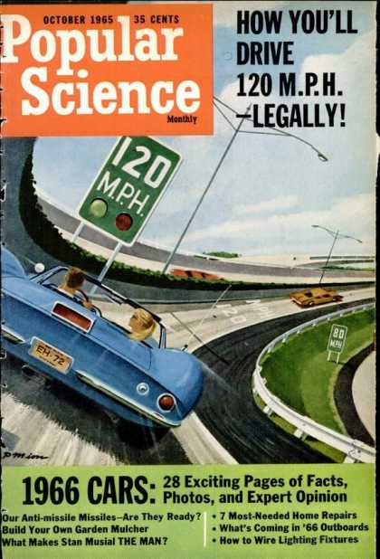 Popular Science - Popular Science - October 1965