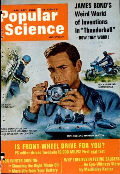 Popular Science - Popular Science - January 1966