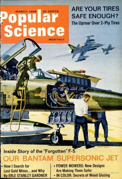 Popular Science - Popular Science - March 1966