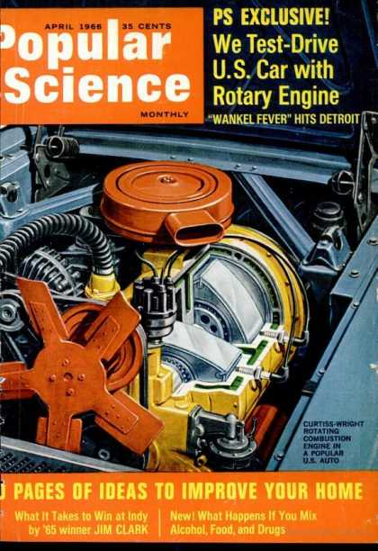 Popular Science - Popular Science - April 1966