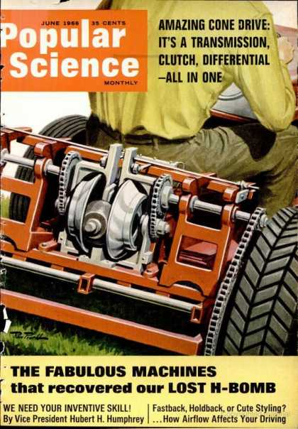 Popular Science - Popular Science - June 1966