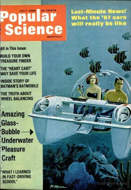 Popular Science - Popular Science - July 1966