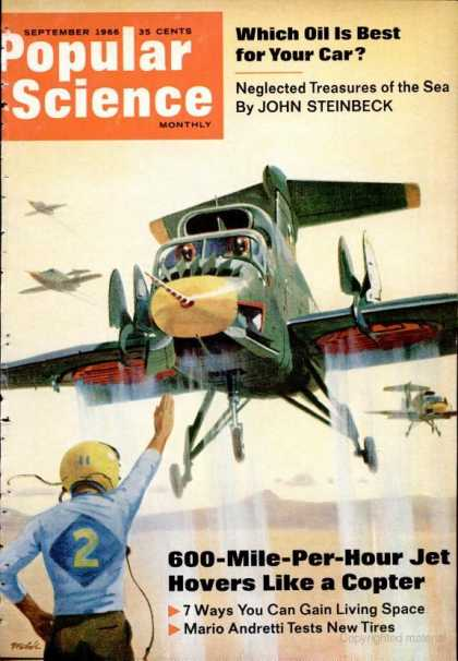 Popular Science - Popular Science - September 1966