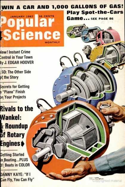 Popular Science - Popular Science - January 1967