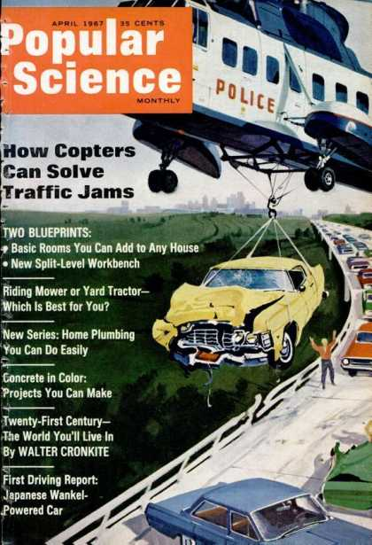 Popular Science - Popular Science - April 1967