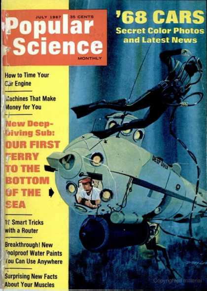 Popular Science - Popular Science - July 1967