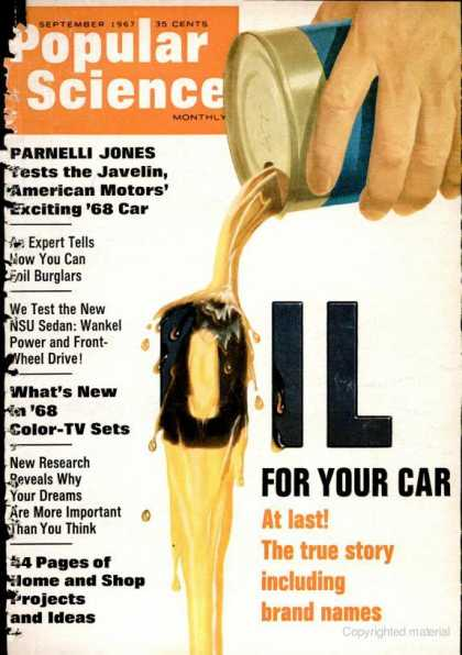 Popular Science - Popular Science - September 1967