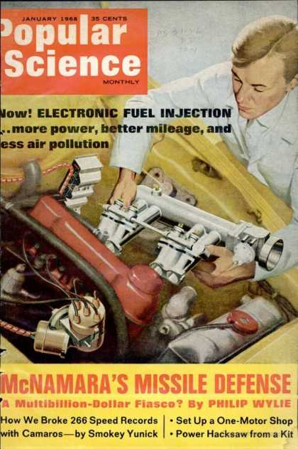 Popular Science - Popular Science - January 1968