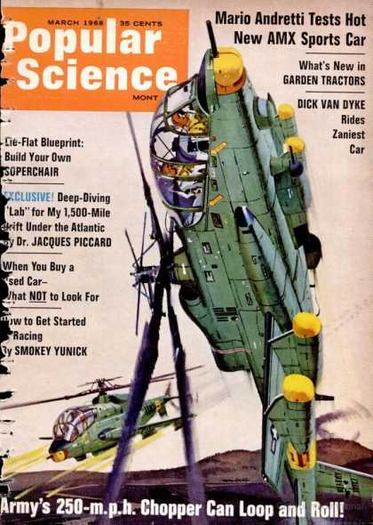 Popular Science - Popular Science - March 1968