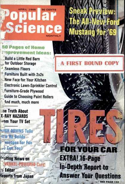 Popular Science - Popular Science - April 1968
