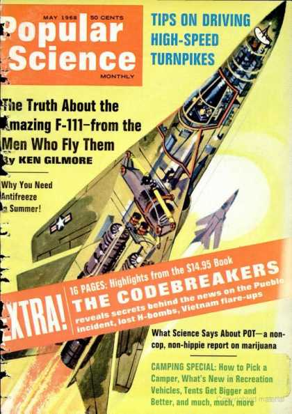 Popular Science - Popular Science - May 1968