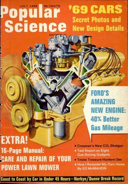 Popular Science - Popular Science - July 1968