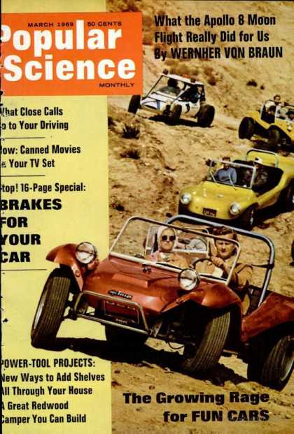 Popular Science - Popular Science - March 1969