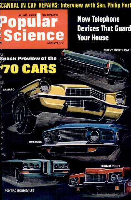 Popular Science - Popular Science - June 1969