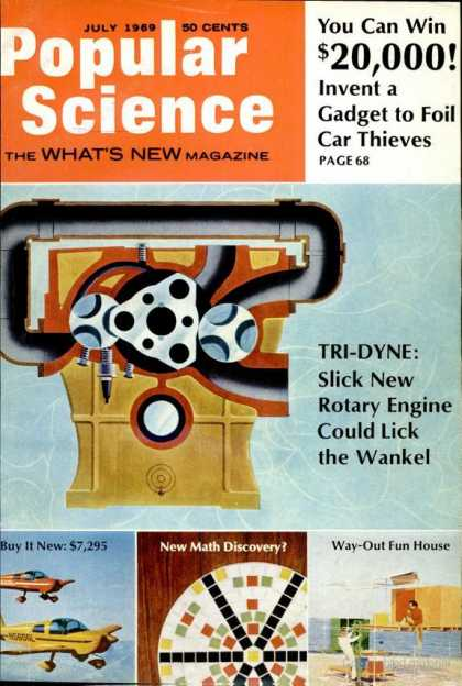 Popular Science - Popular Science - July 1969