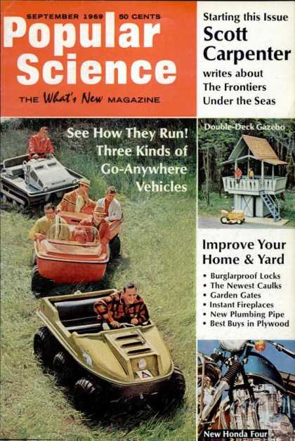 Popular Science - Popular Science - September 1969
