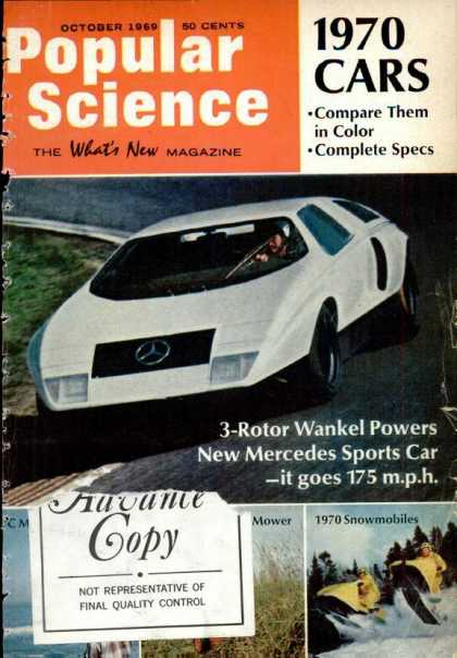 Popular Science - Popular Science - October 1969