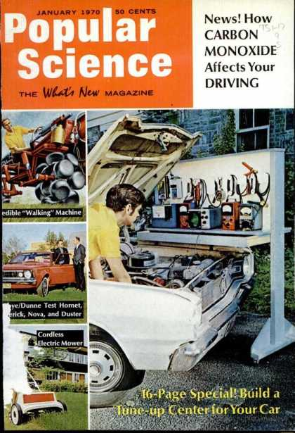 Popular Science - Popular Science - January 1970