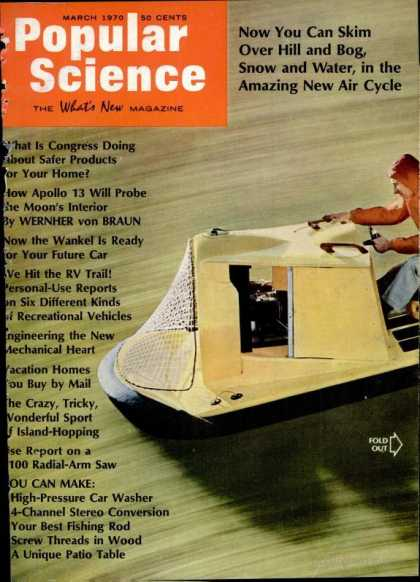 Popular Science - Popular Science - March 1970