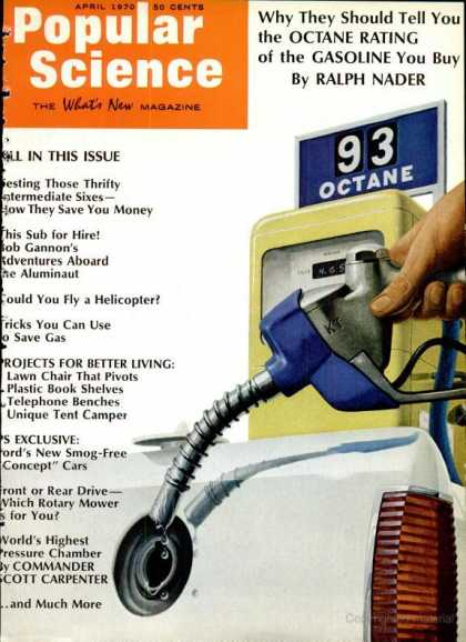 Popular Science - Popular Science - April 1970