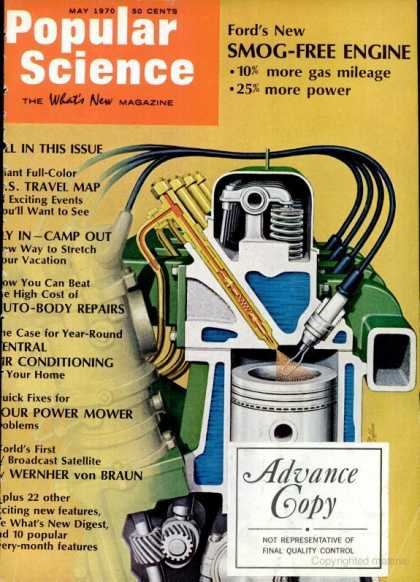 Popular Science - Popular Science - May 1970