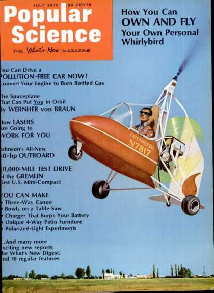Popular Science - Popular Science - July 1970