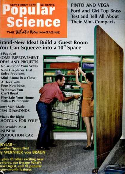 Popular Science - Popular Science - September 1970