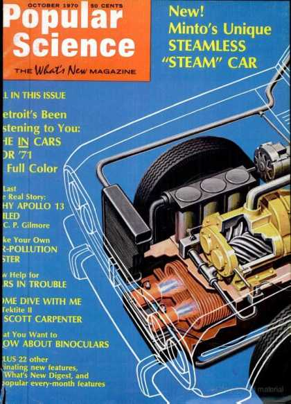 Popular Science - Popular Science - October 1970