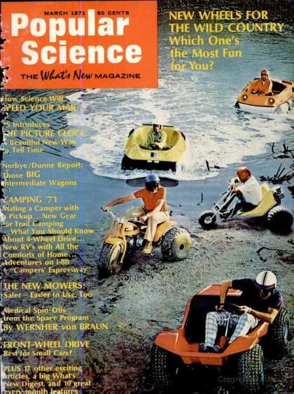Popular Science - Popular Science - March 1971